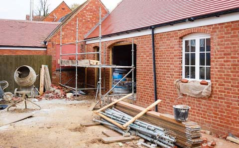 Bricklaying Example Liverpool Extension